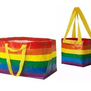 Small and Big IKEA Pride Bags